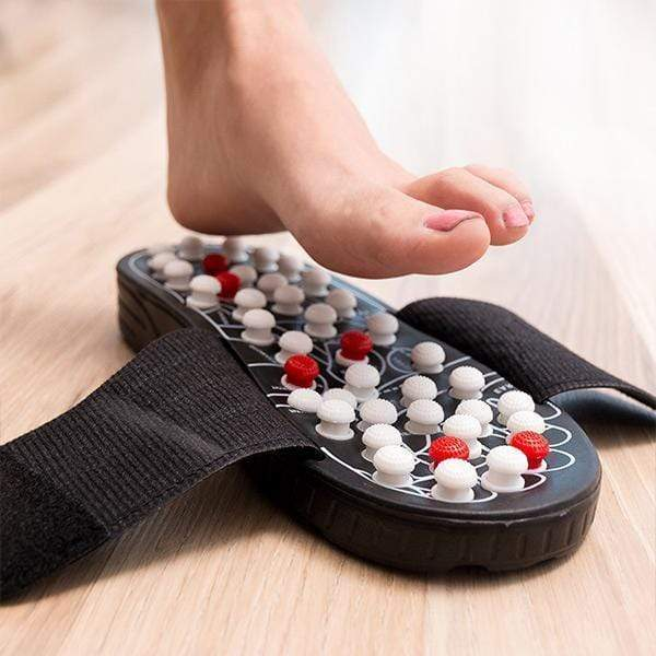 IFLGADGETS-ST Acupressure Massage Slippers Beauty & Personal Care Small (US Size 7-8)
